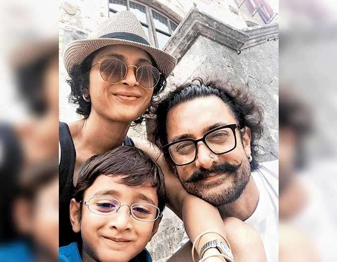 Aamir Khan enjoys vacation in Italy with family