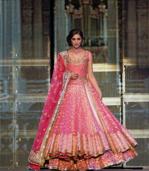 Bollywood Actresses Wedding Lehenga - Nargis Fakri