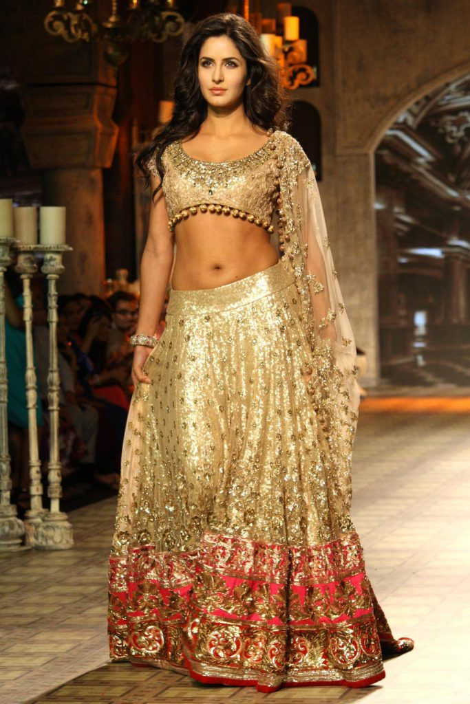 Bollywood Actress wedding Lehenga - Katrina Kaif