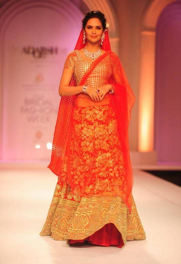 Bollywood Actresses Wedding Lehenga - Esha Gupta
