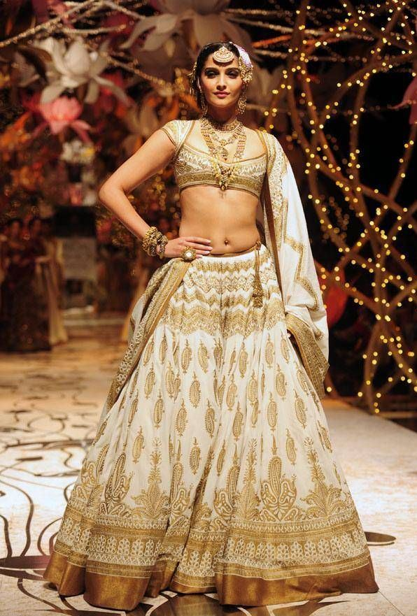 Bollywood Actress Bridal Lehenga - Sonam Kapoor