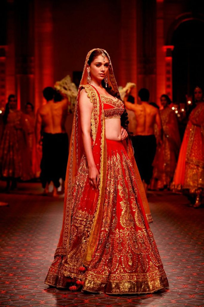 Bollywood Actress Wedding Lehenga