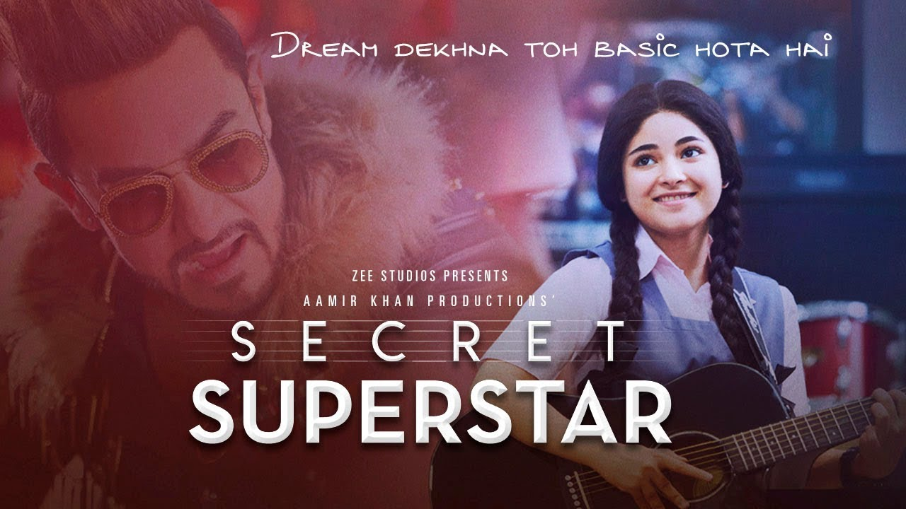 Secret Superstar Trailer Launched By Aamir Khan, Releasing on this Diwali