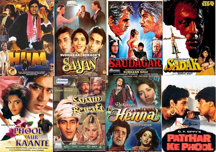 List Of 1991 Bollywood Movies Super Hit Hindi Films Of The Year