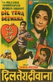 List Of 1962 Hindi Movies - Dil Tera Deewana