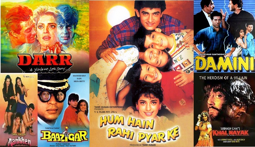 List Of 1993 Bollywood Movies | Super Hit Hindi Films Of The Year 1993