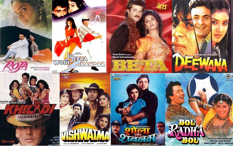 List Of 1992 Bollywood Movies | Super Hit Hindi Films Of The Year 1992