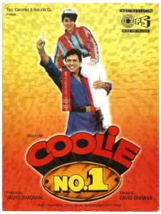 List Of Super Hit Hindi Films 1995 - Coolie No 1