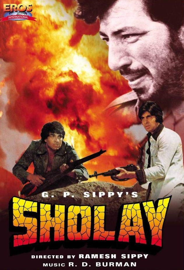Sholay 1975 Hindi Movies