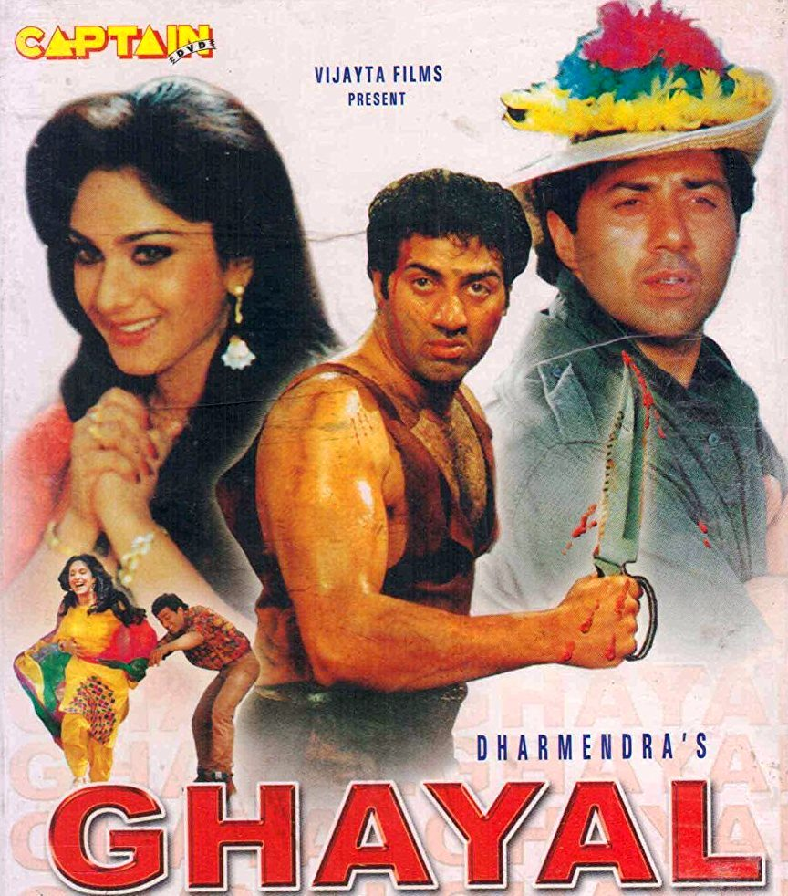 Superhit Hindi Movies List 1990 - Ghayal