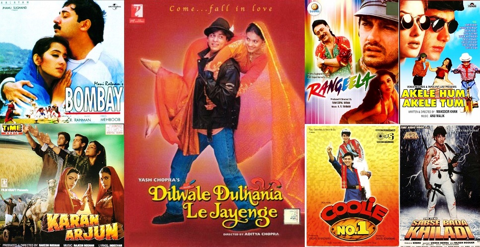 List Of 1995 Bollywood Movies | Super Hit Hindi Films Of The Year 1995