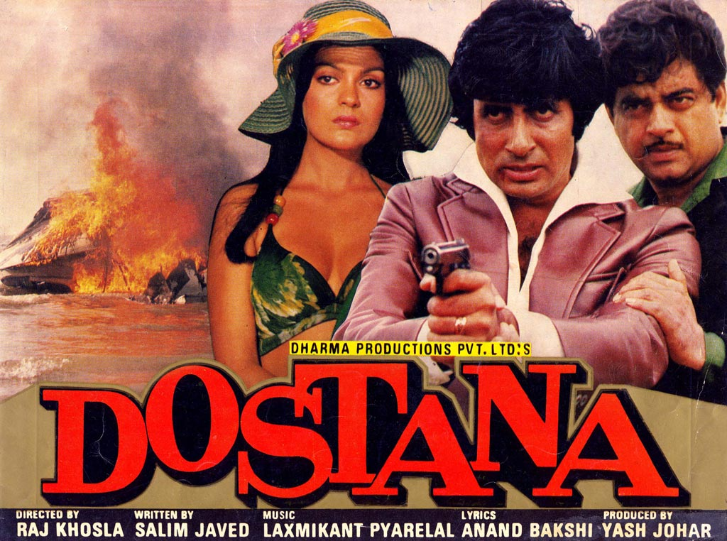 Old Hindi Movies List 1980 - Dostana - Cinemaz World
