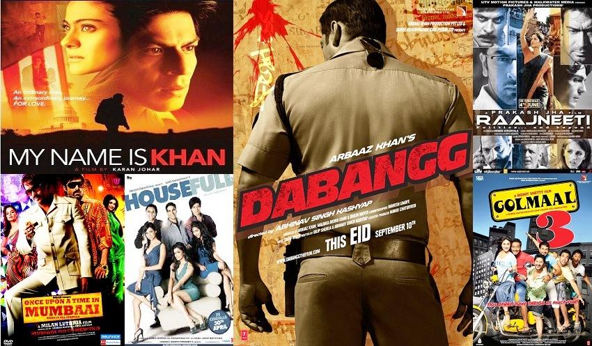 2010 Bollywood Movies List