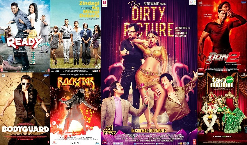 Complete List Of 2011 Bollywood Movies | All Superhit Hindi Films Released In 2011