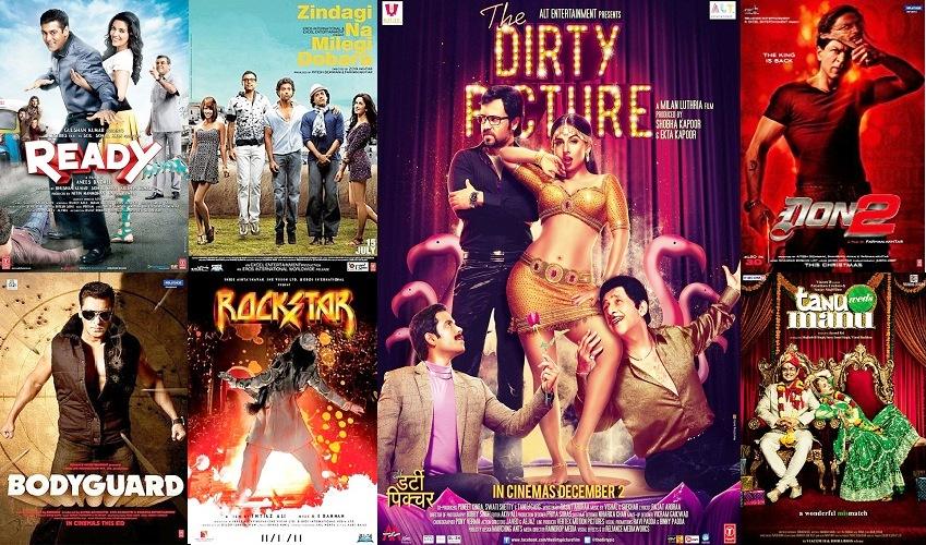 2011 Bollywood Movies List