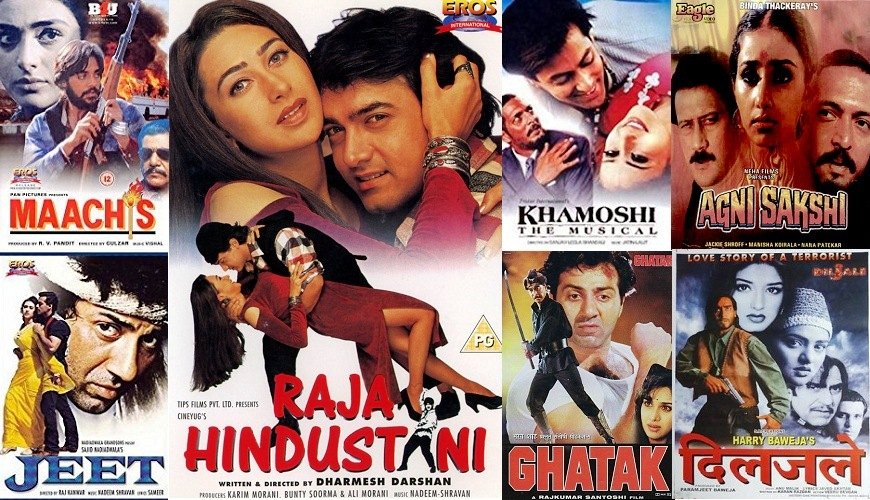 1996 Bollywood Movies List
