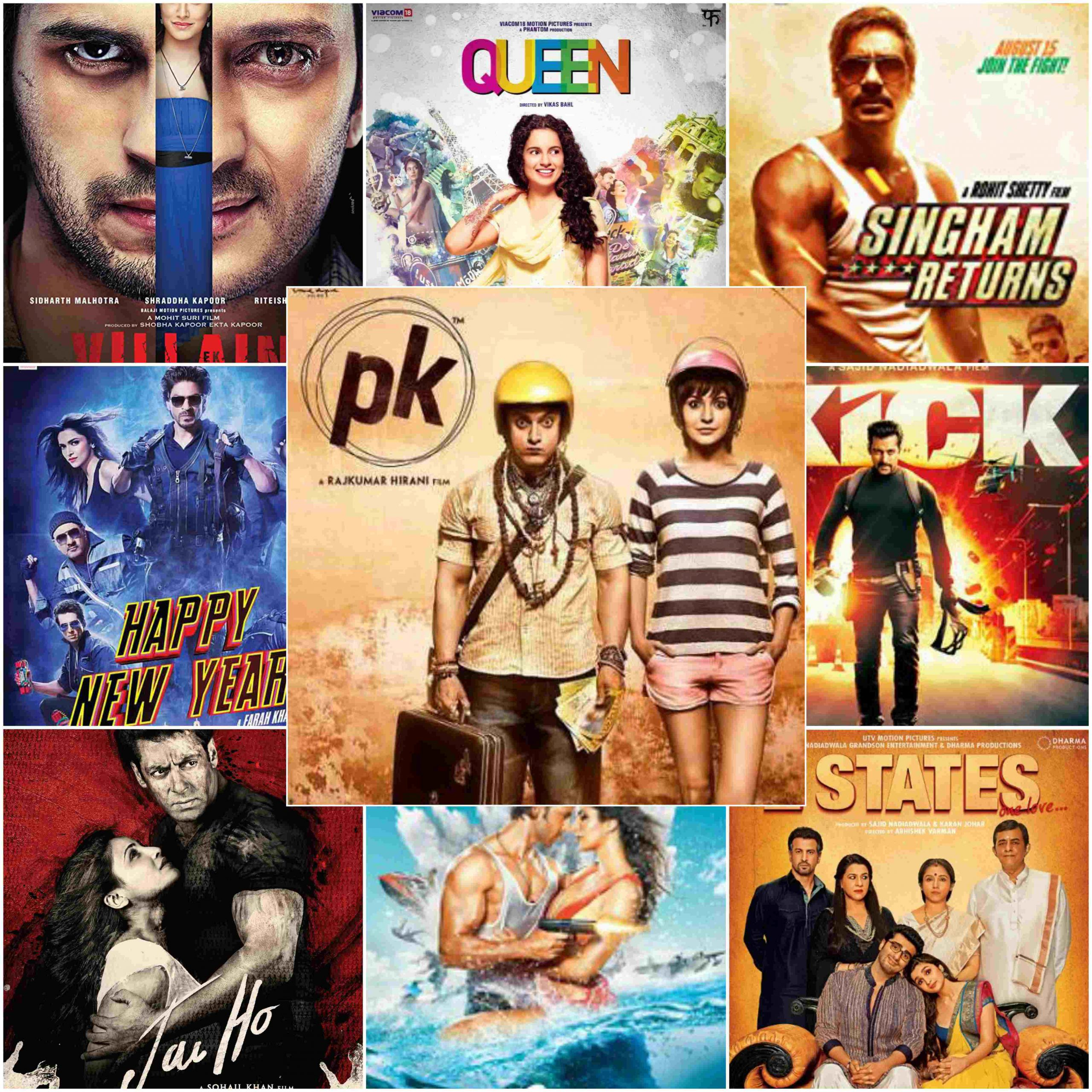 Complete List Of 2014 Bollywood Movies | Comedy & Action Hindi Films Released In 2014