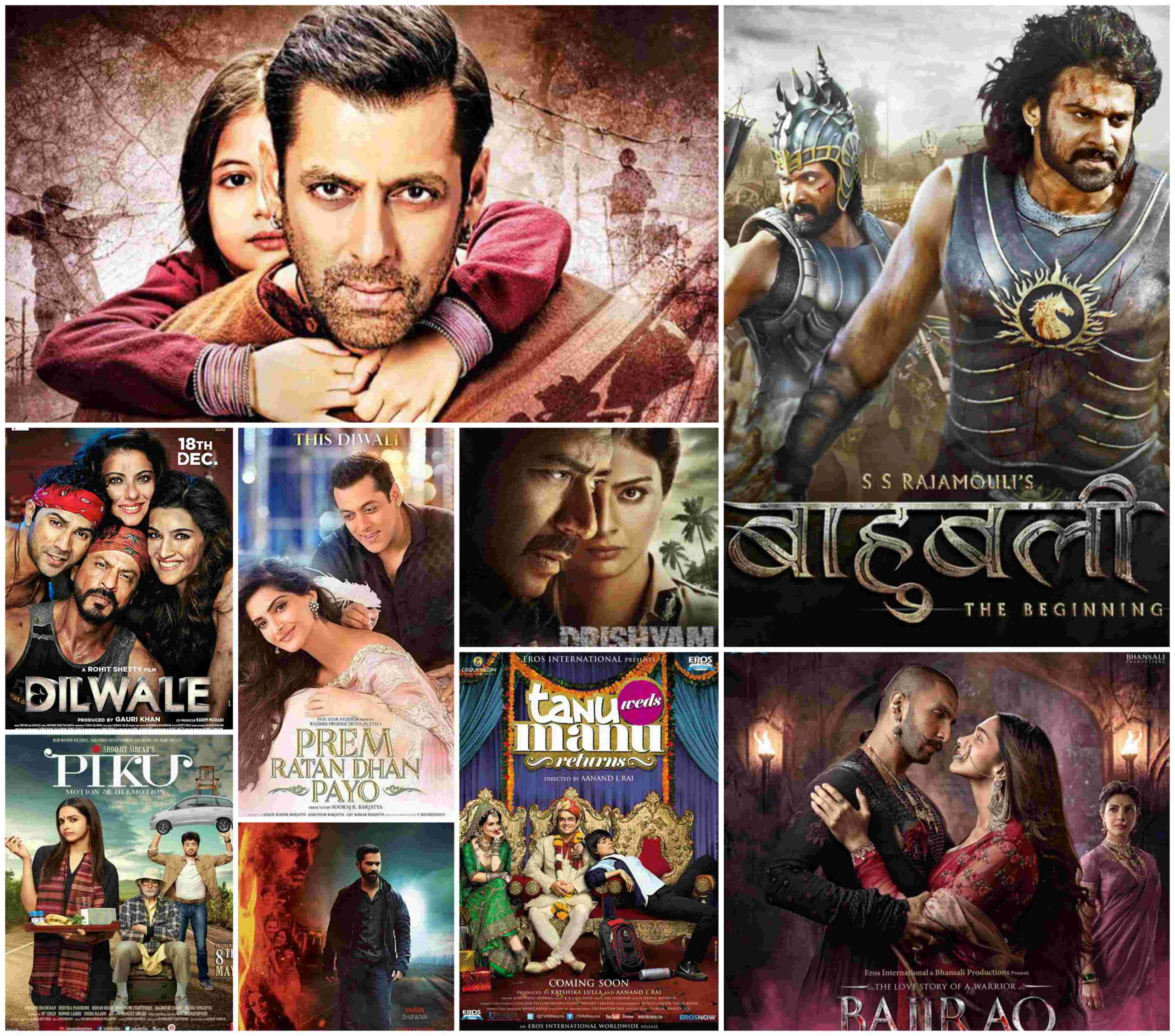Complete List Of 2015 Bollywood Movies | Super Hit Hindi Films Of The Year 2015