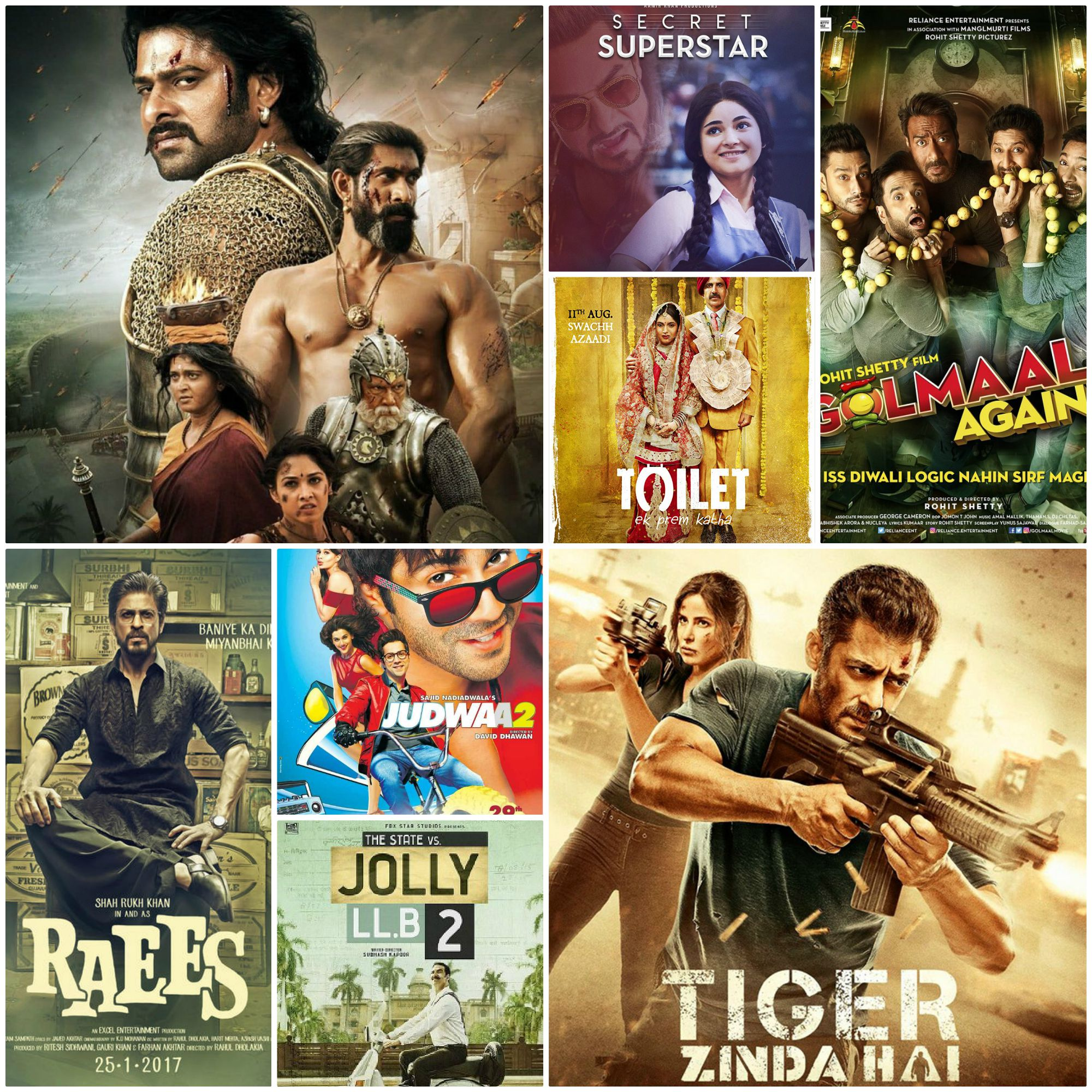 Complete List Of 2017 Bollywood Movies | All Hindi Films Released In 2017