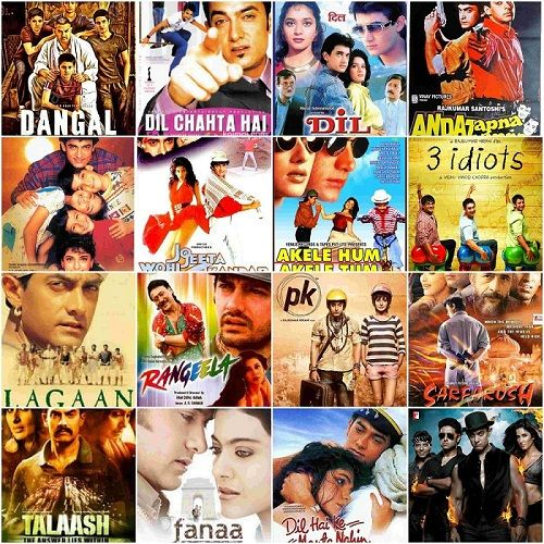 Aamir Khan Ki Film List | New, Old, Hit, Blockbuster, Flop, Latest Movies