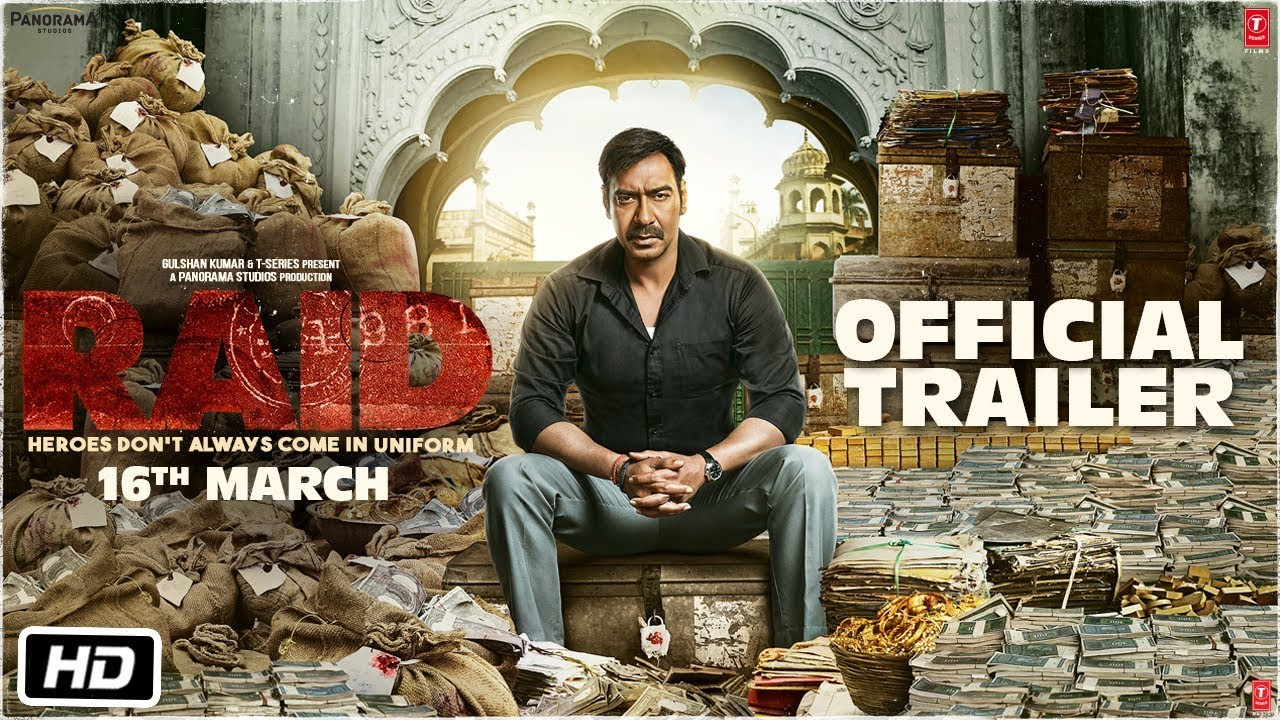 Raid Trailer: Ajay Devgn Is Playing An Income Tax Officer