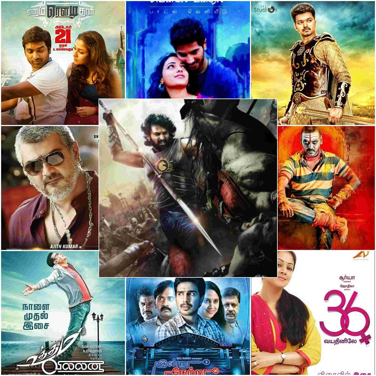 2016 Tamil Movies Calendar | Superhit Films, Awards, Songs, Box Office Collections