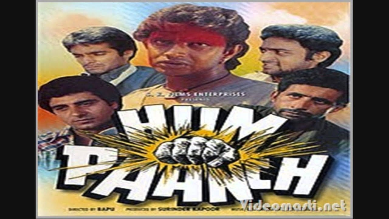 Hum Paanch 1980 Hindi Film – Watch Full Video Songs