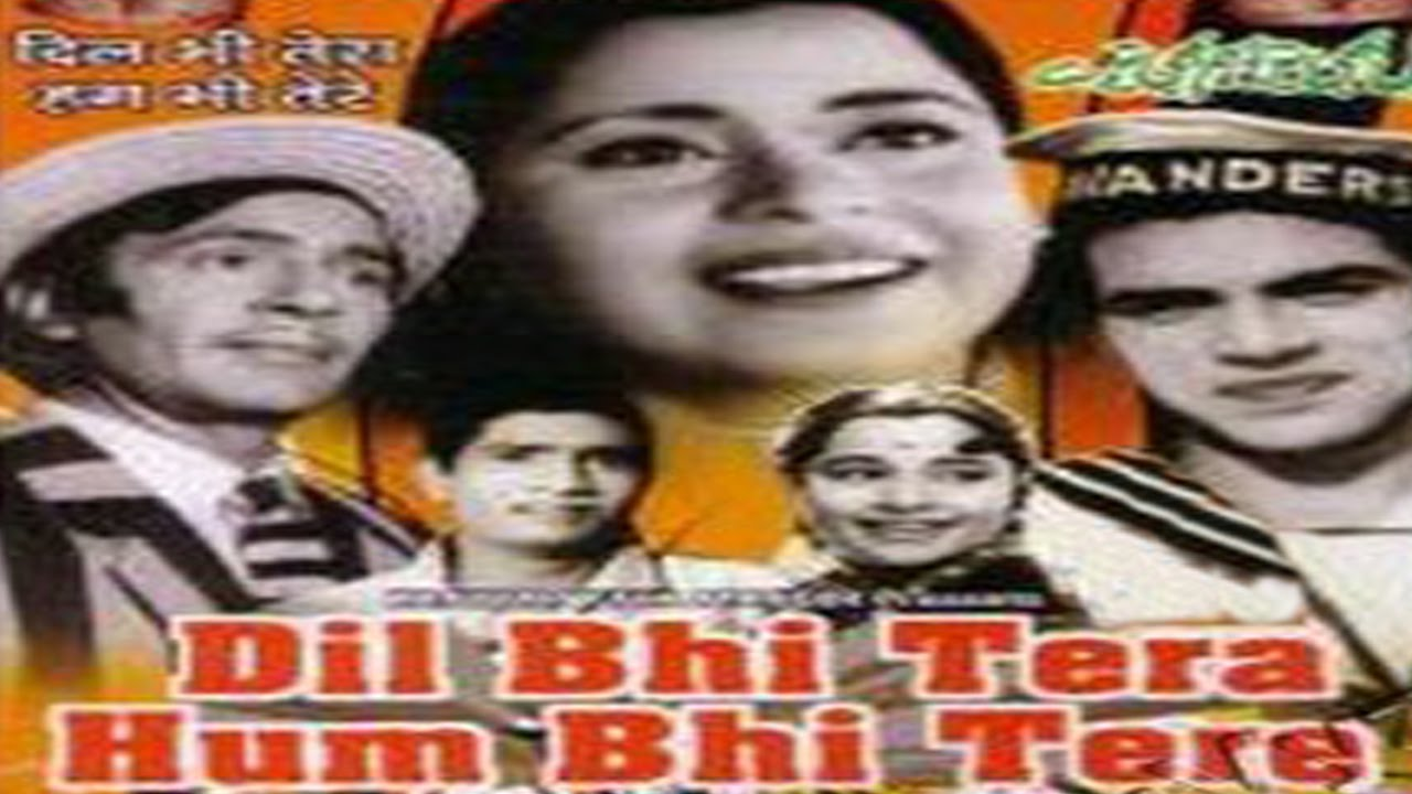 Dil Bhi Tera Hum Bhi Tere 1960 Hindi Film